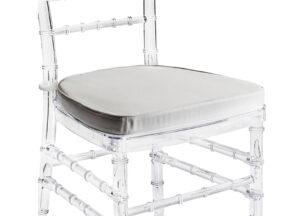 Аренда Стула Chiavari прозрачный + подушка