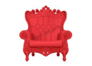 Аренда Кресла Crown красный