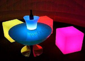 Аренда LED мебели