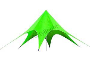 """Шатер """"Звезда"""" Ø – 12, цвет – зеленый"""