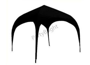 Арочный шатер 3х3м, цвет – черный